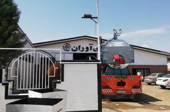 نصب دیگ بخار در مپنا بویلر